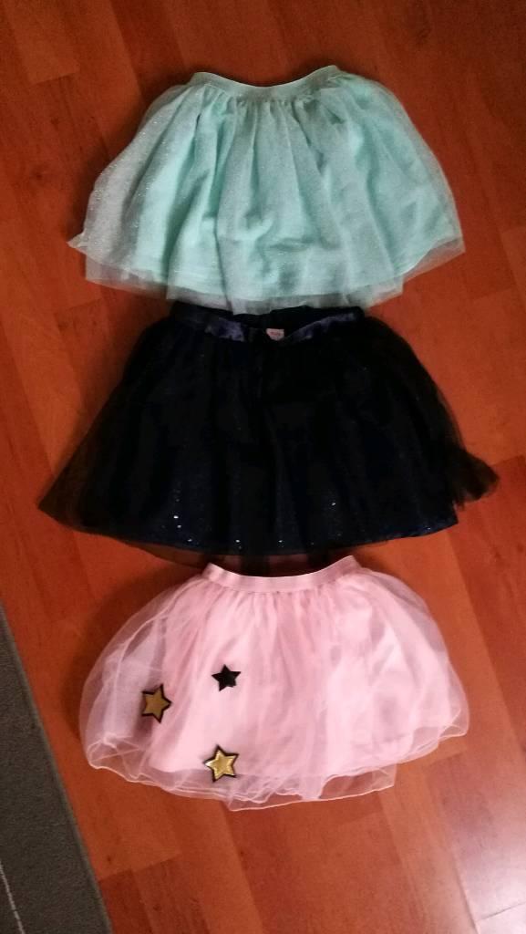 Girls skirts x3