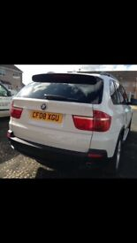 Stunning White BMW X5 2008 Automatic 3.0D SE 66,000 miles 1 Previous Owner FSH £13,500 ONO