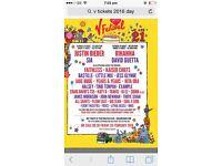 V. Tickets x 2 Saturday 20/8 Weston park