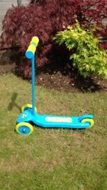 Child's (blue) Zinc Scooter