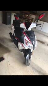 LEXMOTO 50cc moped (white and red)