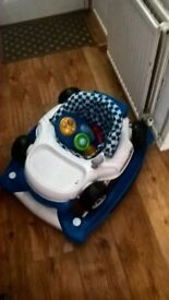 Boys baby walker in excellent condition