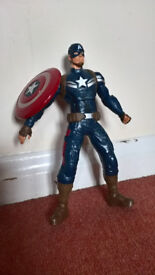 Captain America interactive toy with movements and sounds