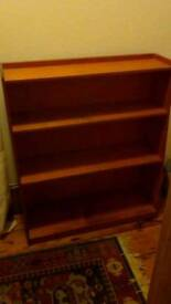 Wooden bookcase 3ft tall
