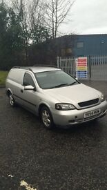 Astra Sportive Van (Cheap low mileage) Long MOT