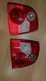 VW Polo 2002-2005 Rear Tail Lighrs O/S & N/S