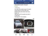 Chevrolet Lacetti 1.8 sport