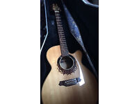 TAKAMINE LTD2000 LIMITED EDITION ELECTRO ACOUSTIC GUITAR