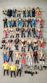 40 WWE figures