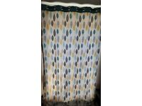 HEART OF HOUSE ARLA LINED EYELET CURTAINS - 168X228CM - reduced for quick sale