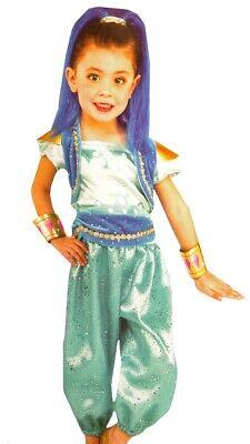 Girls Toddler SHIMMER & SHINE Genie Halloween Costume Purim Headpiece 3T 4T  NEW](Genie Headpiece)