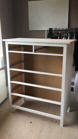 Ikea white Hemnes draws 6 bedroom used good condition