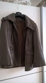 Leather jacket/coat