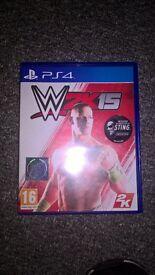 W2K15 Wrestling PS4