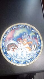 Christmas Tales Plate