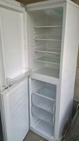 white fridge freezer..50/50 cheap free delivery