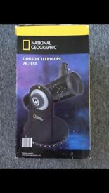 National geographic Dobson telescope 76/350