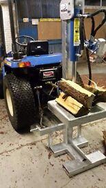 Tractor mounted Log Splitter