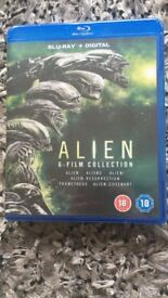 Alien 1-6 blu ray movie boxset