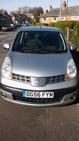 Nissan note SE, 1.6 petrol, very low mileage, Full service history