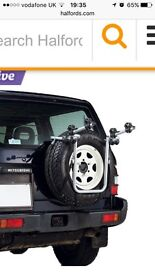 Bike Rack to fit rear mounted spare wheel