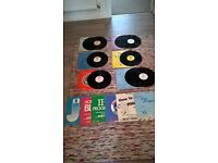 12 Jamey Aebersold jazz backing track vinyl LPs in great condition without books.