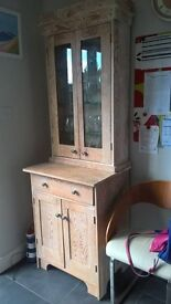 Handmade dresser made from reclaimed pine