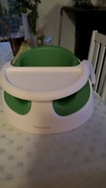 Mamas & Papas Green Baby Snug and Tray, Infant/Toddler Seat/Support