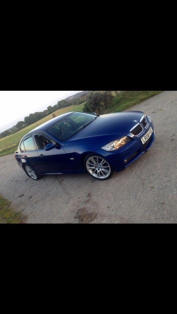 BMW 320i M SPORT 2008 Blue, 18 inch alloys