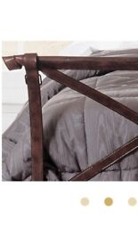 Super king iron bed