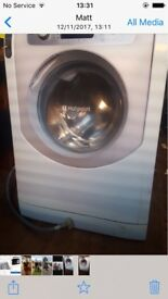 Hotpoint Aqualtis washer large drum