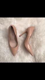 Nude Court shoes Next size6