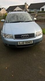 Audi A4 TDI 2002 full year MOT