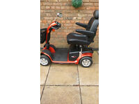 pride colt delux mobility scooter