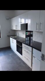 Recently renovated 2 bedroom flat with open plan kitchen for rent