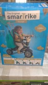 SmarTrike Voyage Green 4 in 1 Tricycle