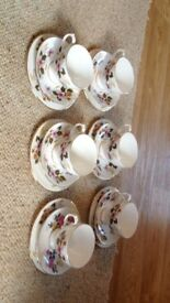 Bone china gainsborough tea set