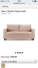 Three and Two seat sofa