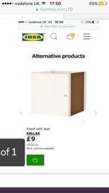 Ikea storage boxes with doors