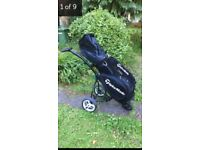 Motocaddy S3 lite and cart bag