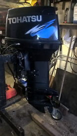 Tohatsu 50hp direct injection outboard engine