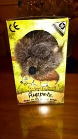 Hedgehog Glove Puppet By Fluppets New Condition & Boxed