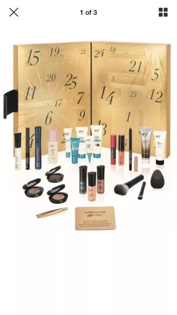 No7 advent calender beauty £169 Worth of product brand new
