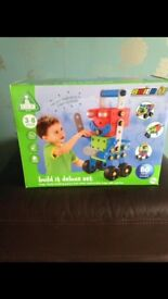 Early Learning Center Build It deluxe Set - Box & Instructions