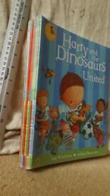 New, unused, unopened Harry & the Dinosaurs 10 story books