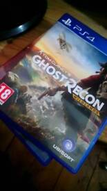Ghost Recon and will ands ps4