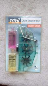 Bike chain cleaning kit