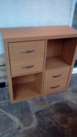 Ikea Shelving and Draw Unit