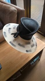 whiteley hat compamy black and white