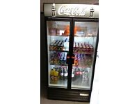 Massive Coca Cola Drinks Fridge